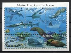 26019) Grenada Grenadines 1995 MNH New Marine Life
