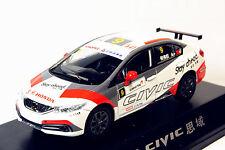 1/43 China Honda civic #9 racer 2016 diecast model