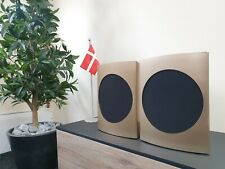 Bang & Olufsen B&O BeoLab 17 WISA Wireless Active Speakers - Brass Tone / Black