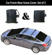Car Front&Rear Windshield Snow Cover Ice Frost Guard Winter Protector SUV Truck