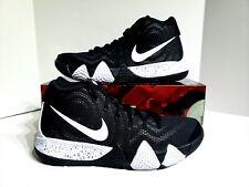 012e27f0e6c Nike Kyrie 4 TB Oreo Basketball Shoes AV2296-001 Black White Mens Size 10.5