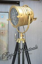 Designer Studio Floor Lamp Tripod Searchlight Nautical Home Decor Spot Light