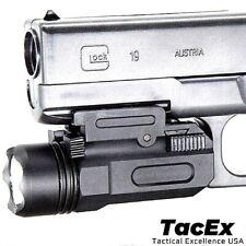 Tactical Pistol Gun Flashlight Torch Light for 20mm Picatinny Rail 600 LM