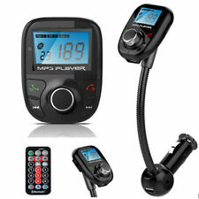 Bluetooth Car Kit Mp3 Player Fm Transmitter Wireless Radio Adapter Usb/Sd+Remote