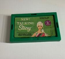 VINTAGE BARBIE TALKING STACEY GREEN BOX TOP MATTEL 1967 1125 Blonde Frost