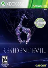 Resident Evil 6  (Xbox 360) Brand New Factory Sealed