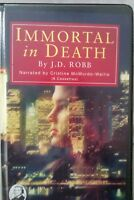 Immortal in Death: J D Robb: Unabridged Cassette Narr Christine McMurdo-Wallis