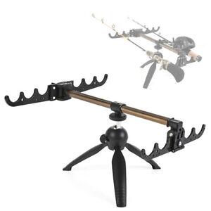 Portable Ice Fishing Rod Tripod Winter Fishing Pole Stand Holder Rest Bracket