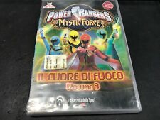 Time of Vintage - DVD Power Rangers Mystic Force Il Cuore di Fuoco Vol 3 EL-A992