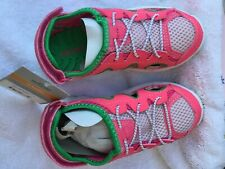toddler girls Carters shoes, new ,size 11, Pink/Green cute shoes