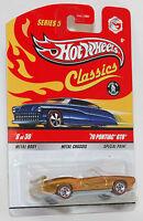 Hot Wheels Classics '70 PONTIAC GTO Gold 1:64 Series 5