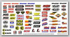 Traxxas 2514 Racing Sponsors Decal Sheet NIP