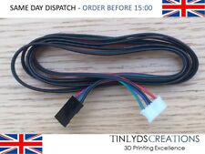 Stepper Motor Cables with 4 Pin Dupont Connector 1 metre long – 3D Printer Part