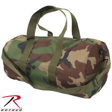 "Rothco 19"" Camo Shoulder Bag - 19"" x 9"" Heavyweight 600D Woodland Duffle Bag"