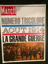 paris match n°800 la grande guerre   1964