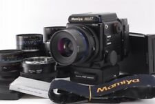 [NEAR MINT] Mamiya RZ67 Pro II Medium Format w/4lens winder kit from Japan #297