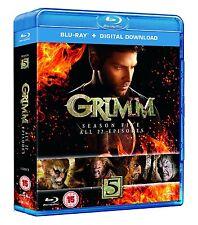 Grimm . The Complete Season 5 . Staffel . 5 Blu-ray . NEU . OVP
