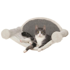 Cream/Gray Wall-Mounted Cat Lounging Set