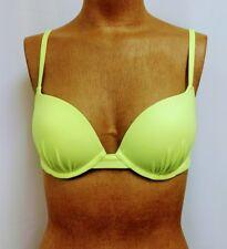 Victoria's Secret Size 34D Bikini Swim Top Neon Lime