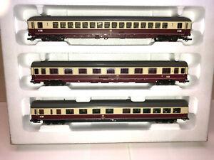 ROCO Schnellzugwagen - Set TEE 26/27 Erasmus Teil 2, Ep.IV, Spur H0,  neuwertig