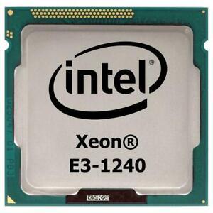 CPU Processore Intel XEON E3-1240 SR00K (80W) 3.3 GHz. LGA 1155 (DDR3 1066/1333)