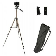 Eurosell 105cm Stativ für Android Smartphone iPhone Halterung Kamerastativ Profi
