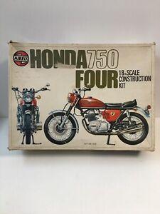 Rare maquette Airfix Honda 750 Four 1/8 Maquette Déjà Commencée