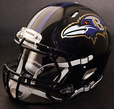 BALTIMORE RAVENS NFL Authentic GAMEDAY Football Helmet w/ S2BD Facemask