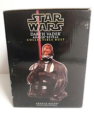 Star Wars Darth Vader Anakin Reveal Mini Bust Gentle Giant Exclusive - BRAND NEW
