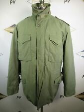 E8667 VTG US ARMY M-65 Cold Weather Field Coat Military Jacket Size L