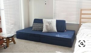 Nugget Comfort Couch (IN-HAND,FREE SHIPPING READY!) NAVY BLUE SUBMARINE RARE