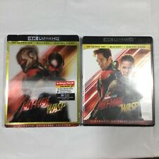 Ant-Man and the Wasp 4K UHD and Blu Ray With Slip Cover