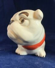 "Ceramic Bulldog dog figurine 3 1/4"" tall"