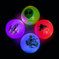Light Up Space Ball - Toys - 12 Pieces