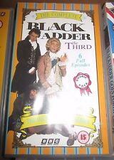Black Adder The Third 6 episodes video cassette tape VHS - Rowan Atkinson
