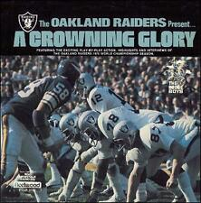 1976 Oakland Raiders  A Crowning Glory CD   NEW