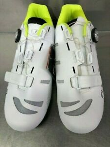 FLR F-22 II Men's Road Cycling Shoe  - White - Size 44 Only