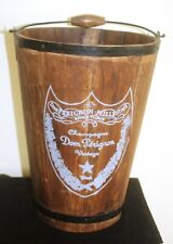 COOLER / ICE BUCKET-DOM PERIGNON made from WOOD & IRON