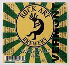 Rock Art Brewery ROCK ART INDIA PALE ALE beer label VT 12oz
