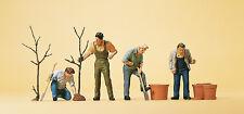 """Preiser 10466 H0 Figuras """"En Plantas"""" #nuevo en emb. orig.##"""