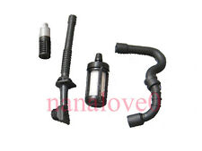 Gas Fuel Oil Line Hose Tube & Filter For STIHL 017 018 MS170 MS180 Chainsaw New