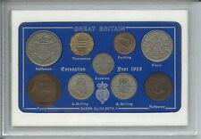 1953 Vintage Coin Set 65th Anniversaire Naissance Année Cadeau Anniversaire De Mariage Cadeau