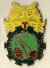 Rare! French Indochina War Badge 31 Engineer Training & Depot Co. Vietnam