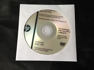 HP 2540 Driver Application CD DVD Disc