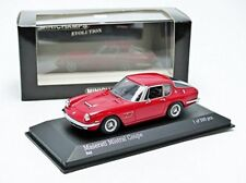 MASERATI MISTRAL COUPE 1963 SPYDER RED MINICHAMPS 437123424 1/43 ROSSO ROUGE ROT