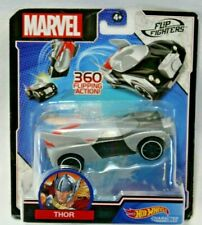 Marvel Flip Fighters Hot Wheels Car Thor skids Toy