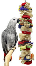 2162 Large Luffa Party Bird Toy parrot toys cages african grey macaws amazon pet