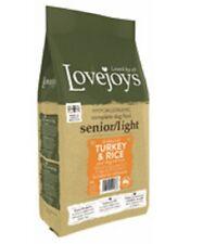 Lovejoys Senior/Light Hypoallergenic Complete Dry Turkey & Rice Dog Food 12kg