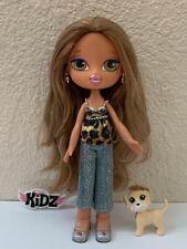 Girlz Girl Bratz Kidz Kid Pampered Pupz Yasmin Doll Original Clothes Shoes Rare