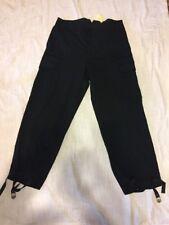 Vintage Rare Polo Ralph Lauren Mens Classic Utility Jersey Pants Size L Black